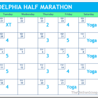 5 Weeks to Philly Half Marathon
