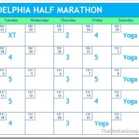 5 Weeks to Philly Half Marathon