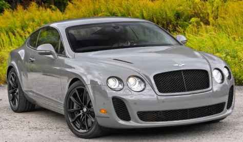 A 2010 Bentley Supersport Like This Was Stolen Off a Lot Thursday Morning In Tampa Bay