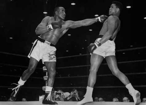 Sonny Liston, former world famous boxer, turned nightclub bouncer after his career was over.