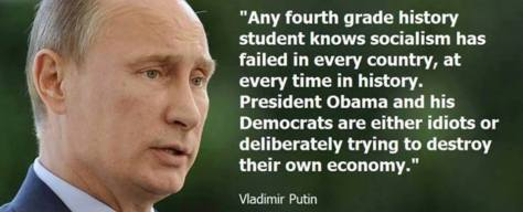 PUTIN TELLS IT LIKE IT IS ...