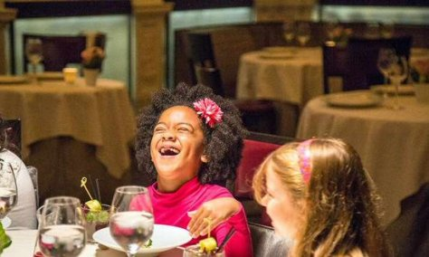 Six second graders from P.S. 295 in Brooklyn were treated to dinner at Daniel, where the seven-course tasting menu goes for $220 a person.