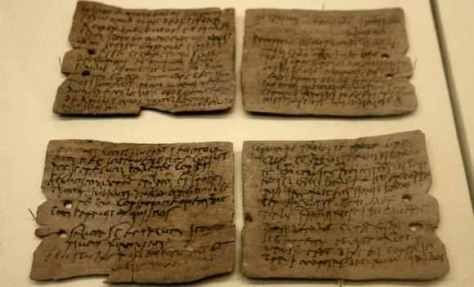 The Actual Documents Rediscovered in Vatican Archives