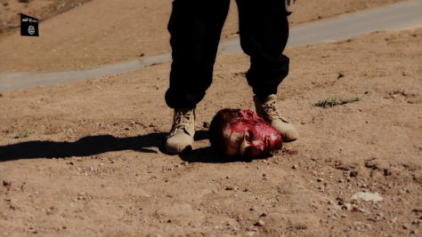 There are no words to answer the horror that calls itself the Islamic State ...