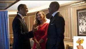 """""""President Barack Obama, Jay-z, Beyonce"""""""