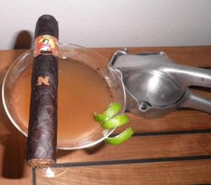 La Gloria Cubana Serie N w/ Floridita cocktail