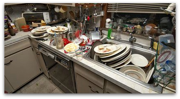 One Messy Kitchen