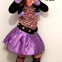 Dress Up Your Little Clawdeen Wolf With A Monster High Costume
