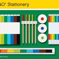 Check Out This Cute Lego Stationery Set