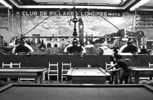 Billiards in Bogotá