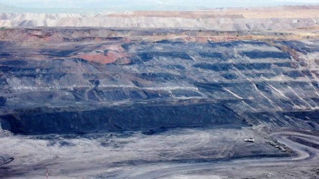 Coal mining in La Guajira