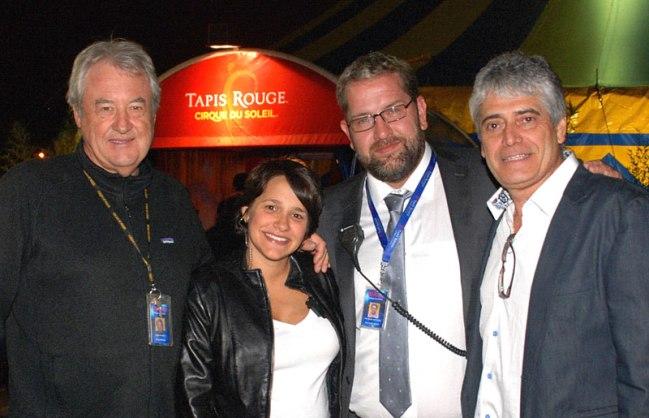 Robert Mackenzie, Cynthia Clemente, Peter Baaij, Renato Herrera