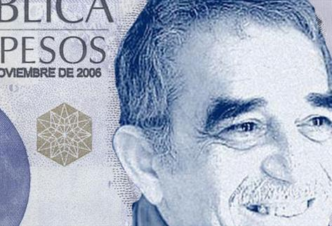The Congress is proposing to put Gabo on the $100,000 peso note.