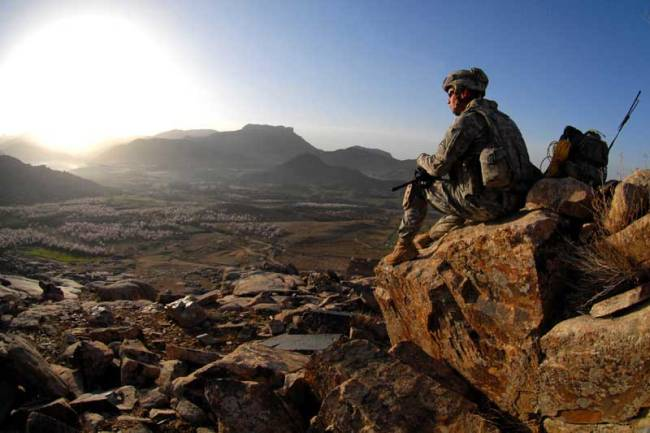 File photo from the U.S Army take in Afghanistan.