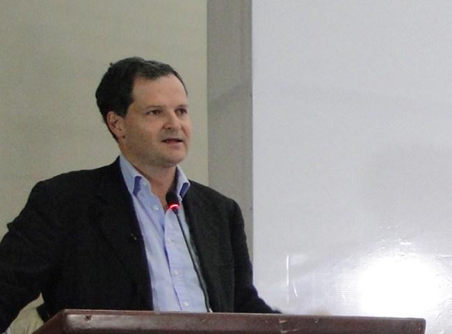 Colombia's High Peace Commissioner, Sergio Jaramillo..