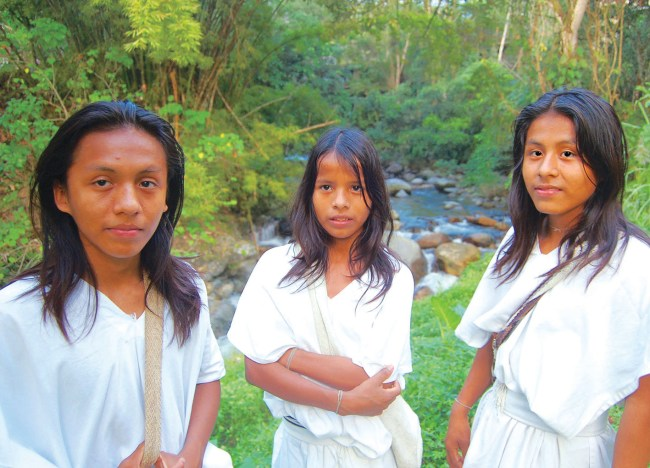 Arhuaco youth start a chapter of Earth Guardians in the Sierra Nevada de Santa Marta.