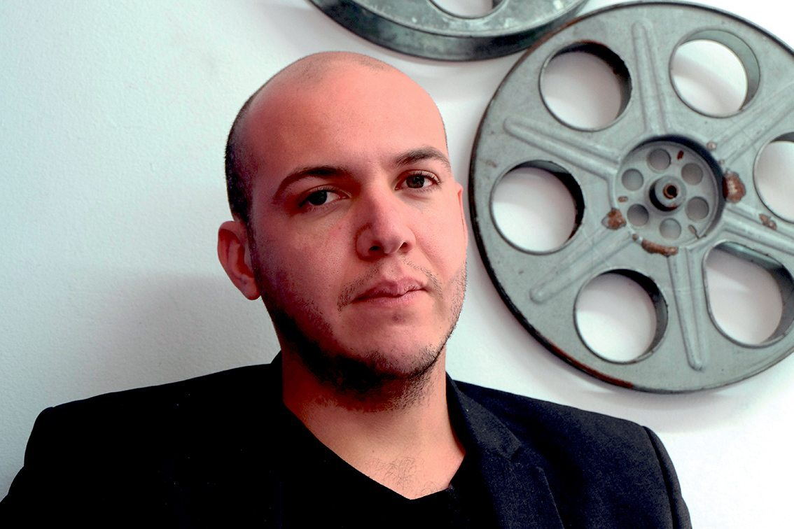 The Colombian film director, César Acevedo of 'Land and Shade'