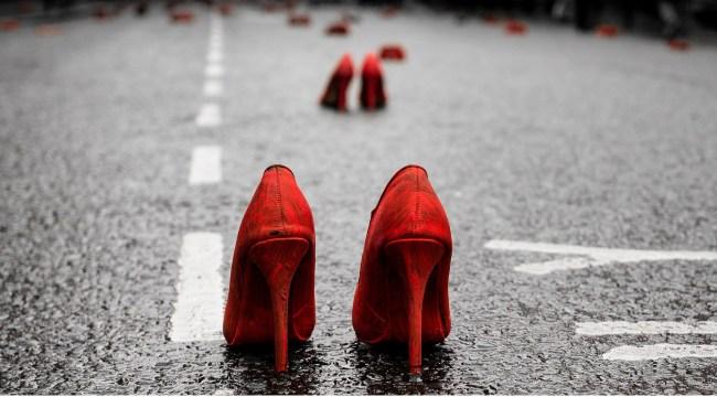 Orange shoes by billy burg