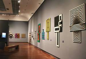 "Omar Rayo ""Vibrant Geometry"""