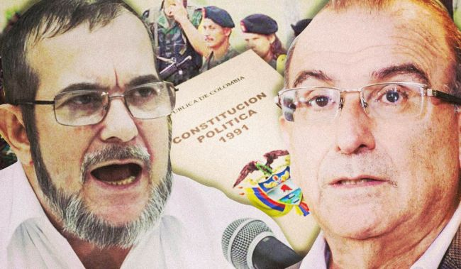 "A special process to ""shield"" an eventual agreement between Colombia and the FARC has proven controversial."