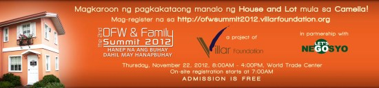 2nd OFW & Family Summit 2012