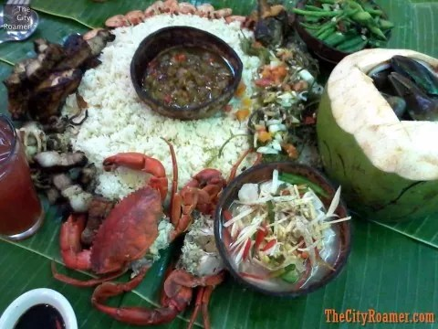 Mt Apo Boodle Feast at Blackbirds Seafood Island Harbor Point