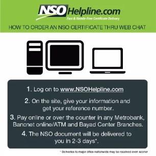 NSOHelpline.com Online Channel