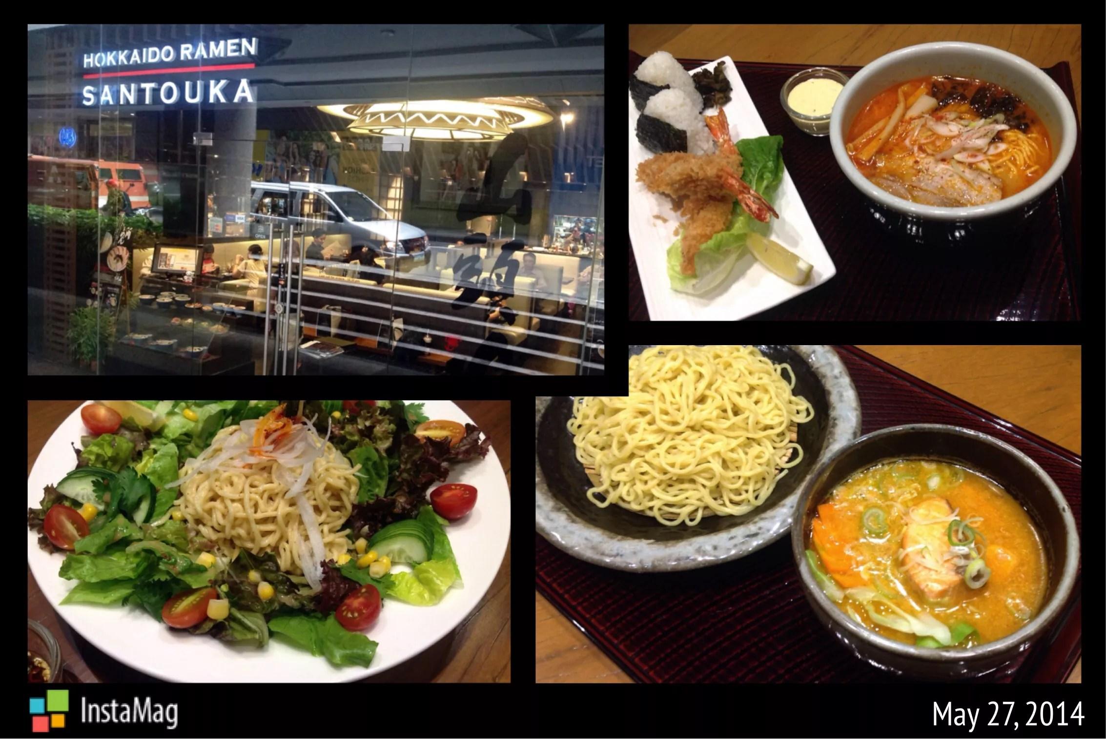 New dishes at Hokkaido Ramen Santouka