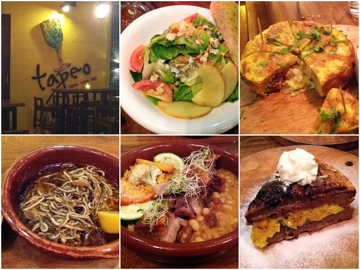 Tapeo The Fort Strip A la Carte Menu