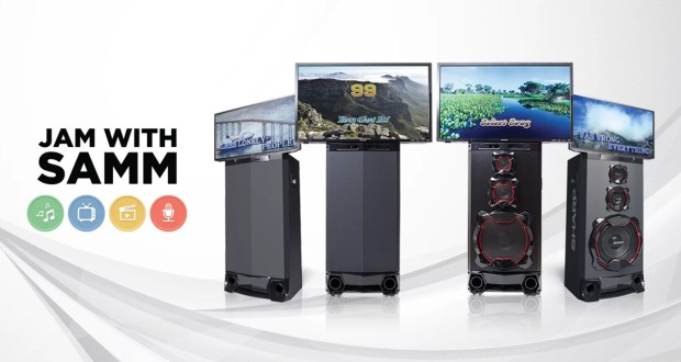 Jam with Sharp Active Multimedia System