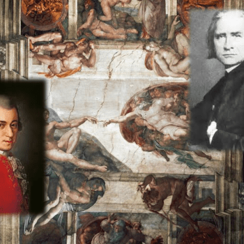 Permalink to:Mozart and Liszt, inside the Sistine Chapel, song(s) in one's head?
