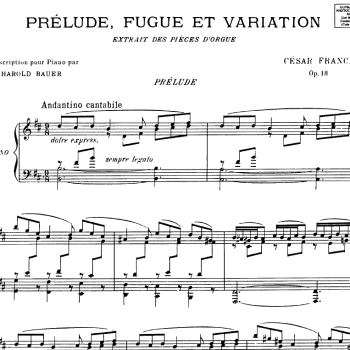 """Permalink to:""""Style and substance"""" in the new and serious French music: Franck's heavenly music"""