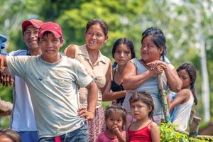 local communities and indigenous people play a vital part in managing the impacts of global climate change on forest areas