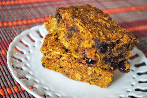 Pumpkin Lactation Bars