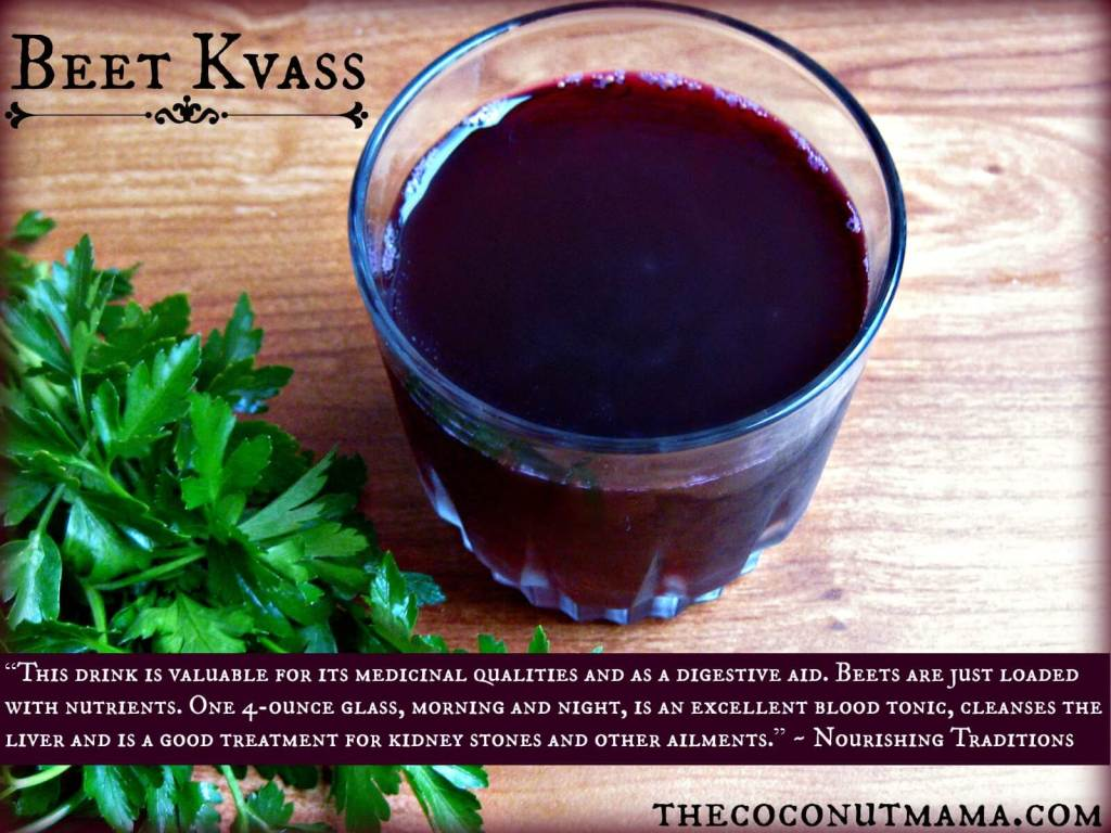 How To Make Beet Kvass - A Healing Tonic! | The Coconut Mama