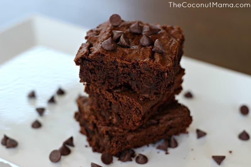 The Best Coconut Flour Brownies