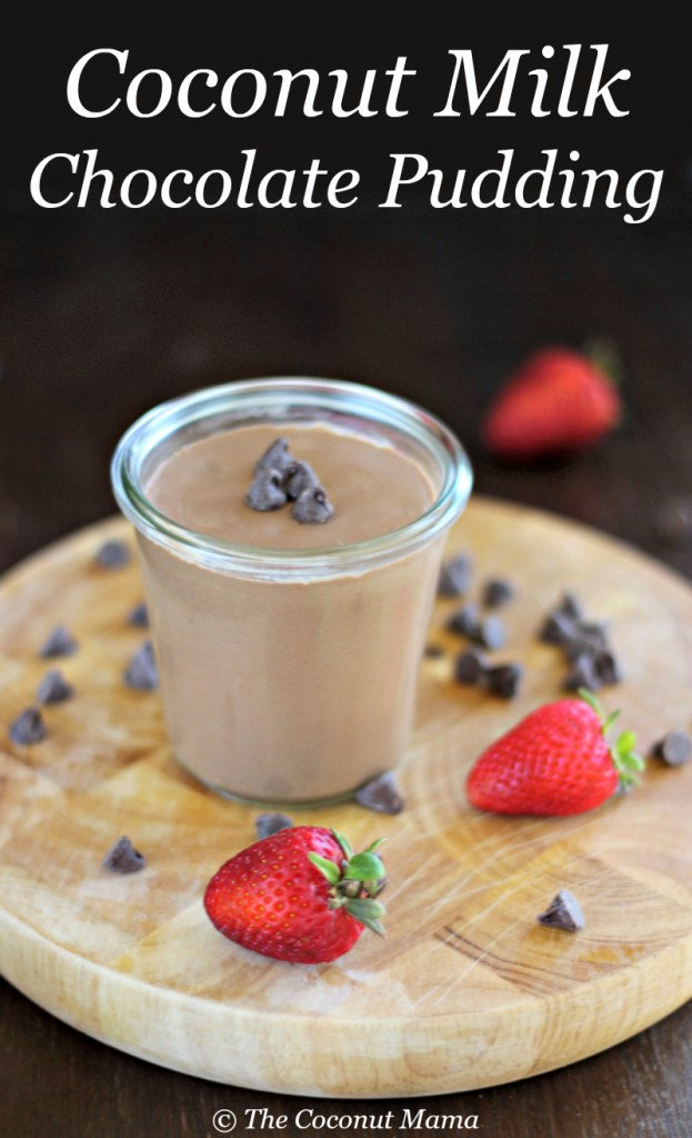 Healthy Chocolate Pudding - The Coconut Mama