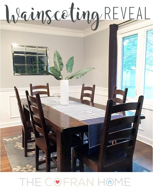Wainscoting Reveal