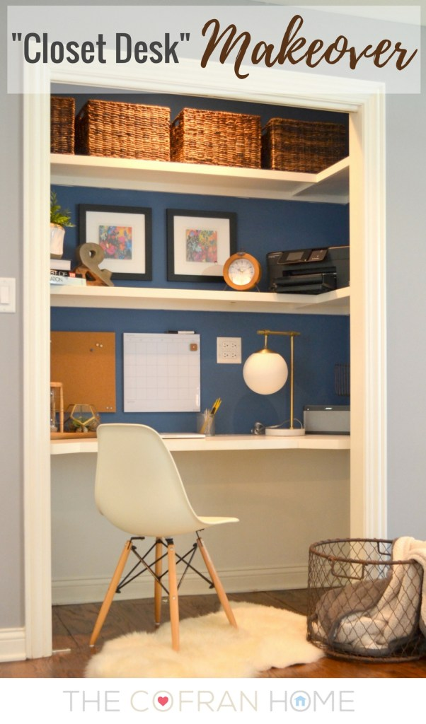 -Closet Desk-
