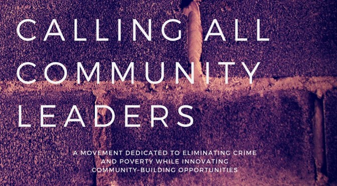 An Open Call for Solutions – Calling All Community Leaders