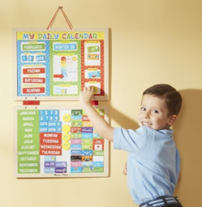 28 Melissa & Doug My First Daily Magnetic Calendar
