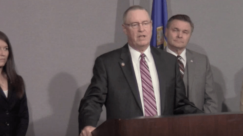 MN Republican claims he's being bullied for authoring anti-transgender bill