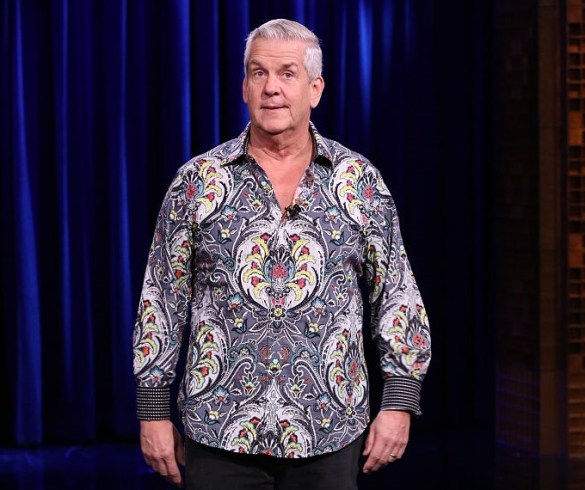 THE TONIGHT SHOW STARRING JIMMY FALLON -- Episode 0379 -- Pictured: Comedian Lenny Clarke performs on December 2, 2015 -- (Photo by: Douglas Gorenstein/NBC/NBCU Photo Bank)