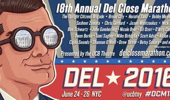 Del Close Marathon 18 #DCM18 lineup unveiled