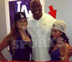 Donald Sterling's mixed race mistress pictured with Magic Johnson