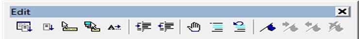 Figure-1-4- Edit Toolbar
