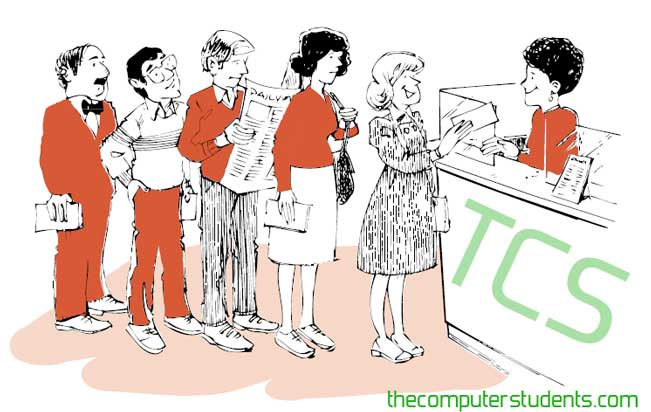 Linear Queue real example in Bank Teller