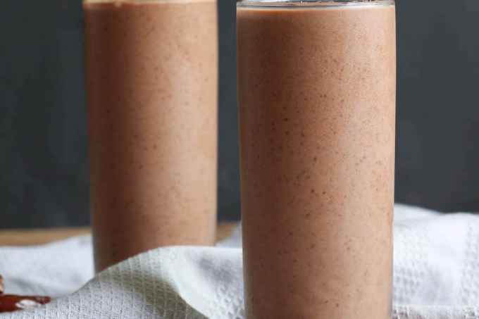 Black Bean Chocolate Smoothie-2