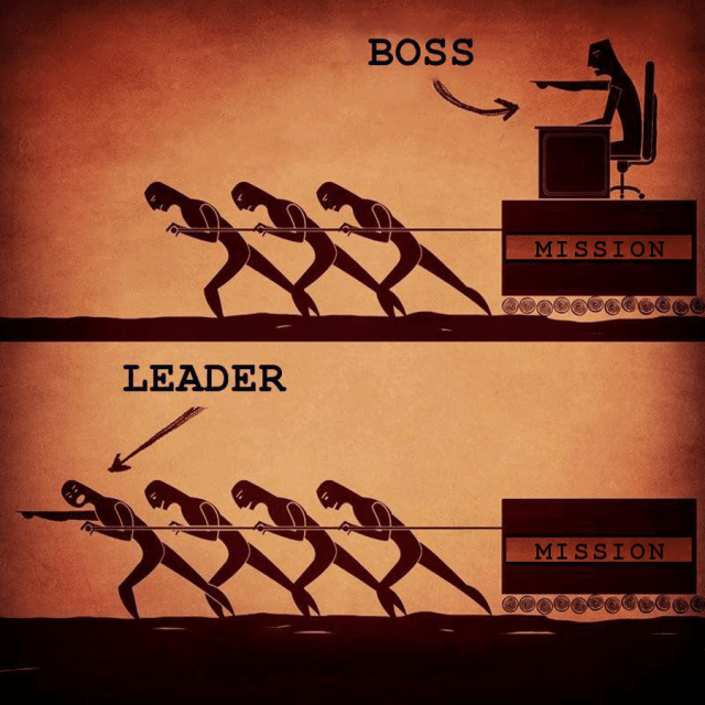 Leader vs. Boss