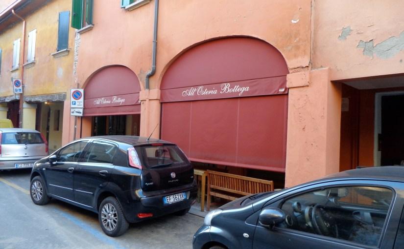 Lunch in Bologna, All'Osteria Bottega